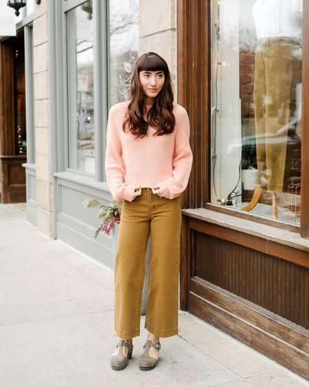 Cupcakes + Cashmere Rhonda Sweater - Sherbert