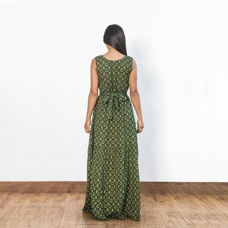 Ace & Jig Julien Dress - Fern