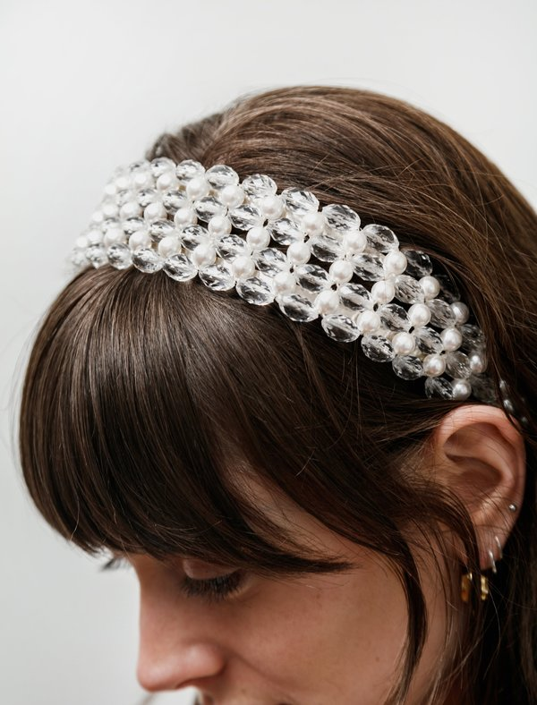 Shrimps Quinn Beaded Hairband