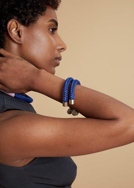 Pichulik Braided Cuff Bracelet - Blue