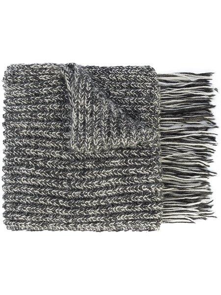 VOZ Apparel Knit Scarf with Fringe
