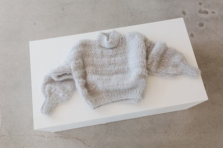 Frisson Knits Isabella Sweater - Silver