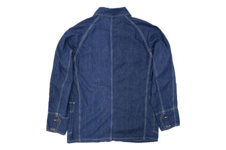 Vintage EL Japan 40's Coverall Light Denim Chore Coat