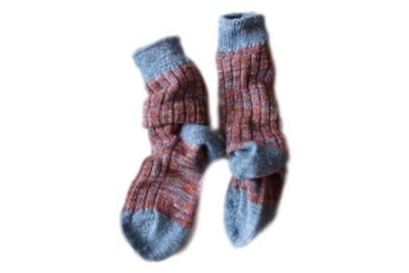 Restfolk Wool Linen Socks - Blue