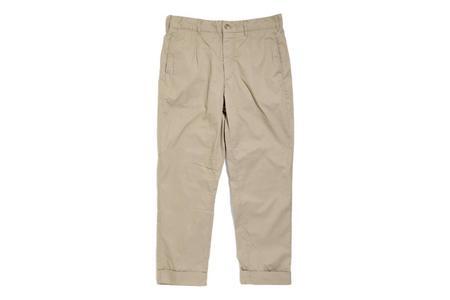 Engineered Garments Carlye High Count Twill Pant - Khaki