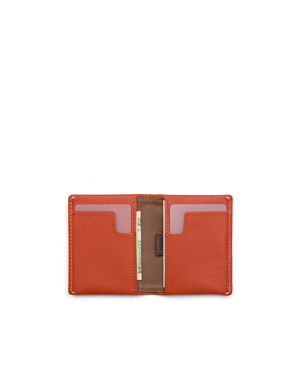 6ca71fd4c8 Bellroy Slim Sleeve Wallet Tamarillo