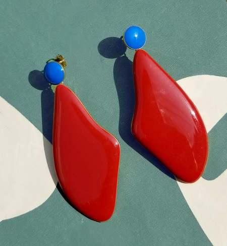 Matter Matters Lima Enamel Earrings
