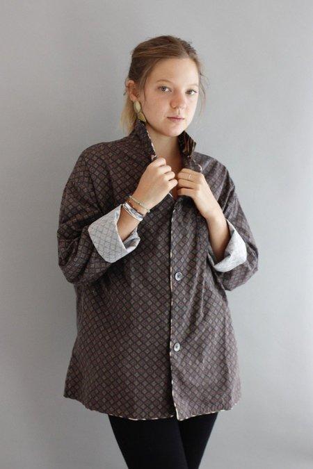 R13 Pajama Top - leopard