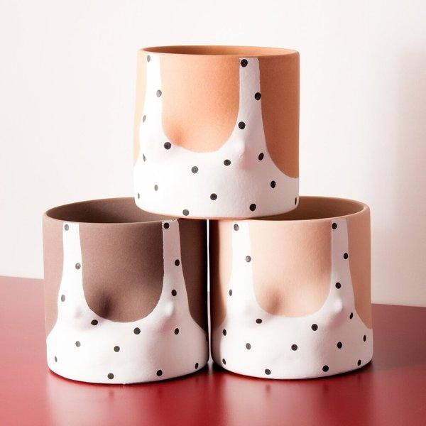 Group Partner Boob Pots