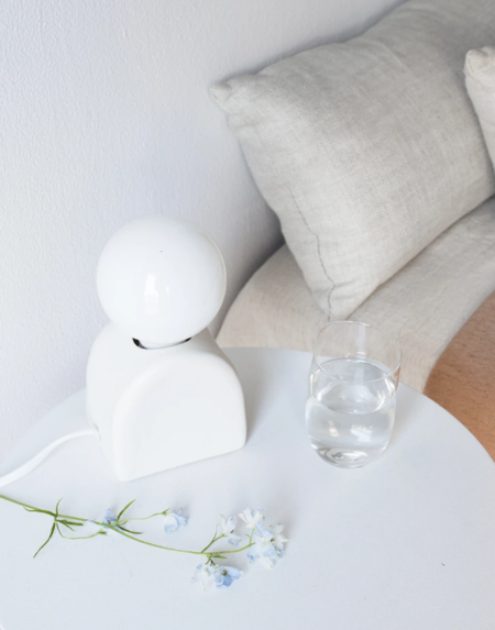 Sin Mima Table Lamp - White