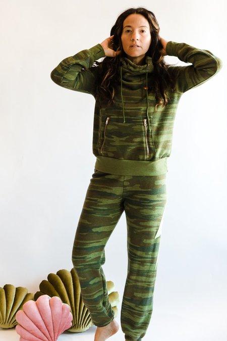 Unisex Aviator Nation Ninja Pullover Hoodie - Camo