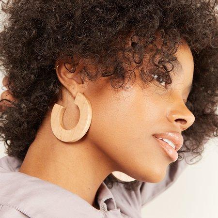 Sophie Monet The Rotunda Hoop Earrings