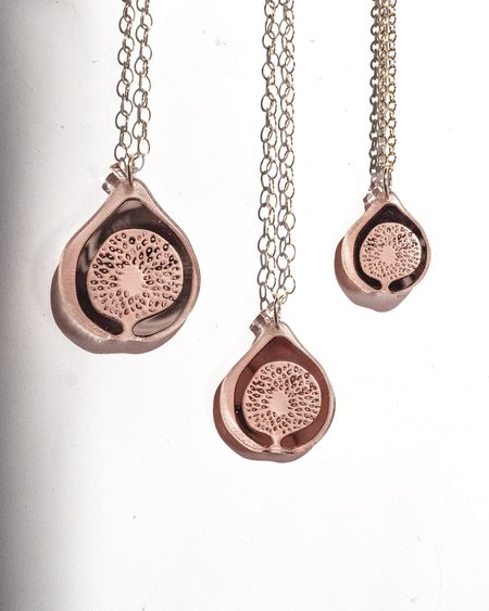 Fool's Gold Vuelta Necklace - Rose Gold