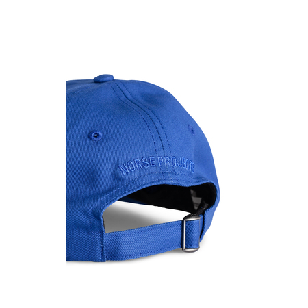 Norse Projects Twill Sports Cap - Twilight Blue