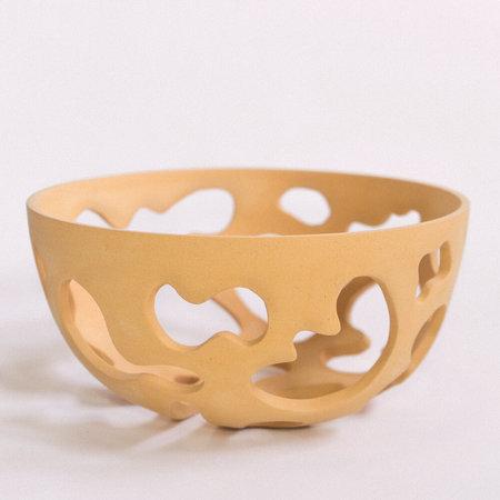 Lindsey Hampton Open Work Bowl - Terracotta