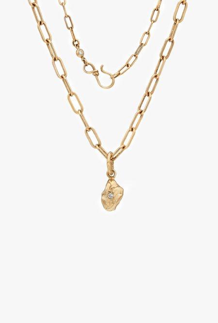 Fie Isolde Violet Nugget Necklace