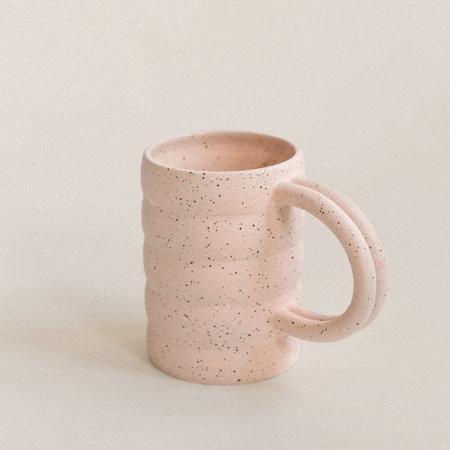 Lindsey Hampton Tor Mug - Pink Speckled