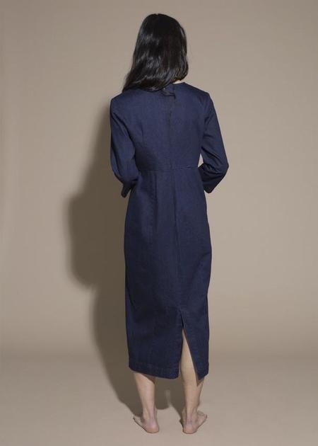 Ilana Kohn Cleo Dress - Indigo Denim