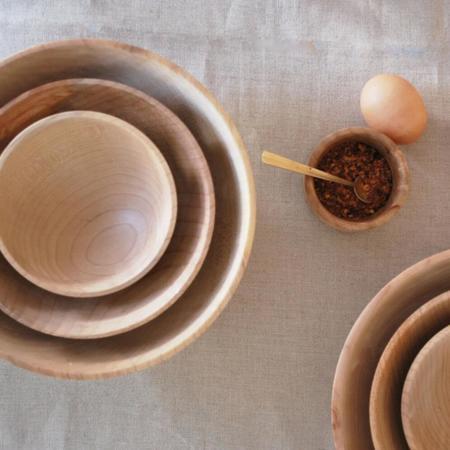 Elise McLauchlan Maple Nesting Bowls
