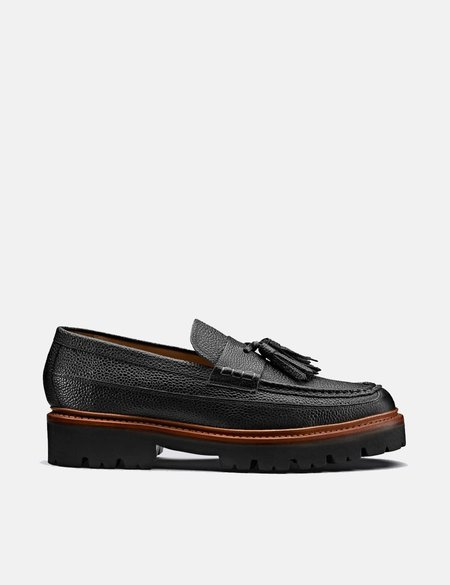 Grenson Booker Leather Loafer - Black