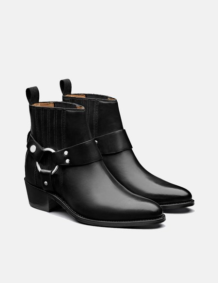Grenson Marley Leather Boot - Black