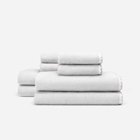 Slowtide Luxe Four Piece Bundle Towel - Off White