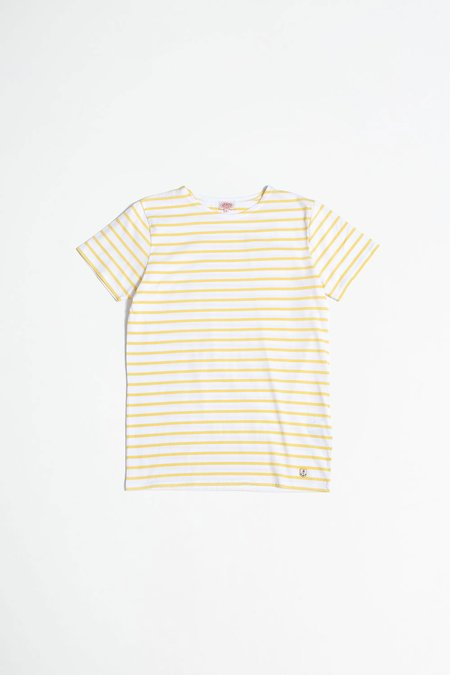 Armor Lux Sailor Shortsleeve Shirt - Blanc/Blondeur