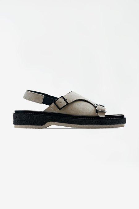 Adieu Type 140 Suede Calf Sandals - Grey