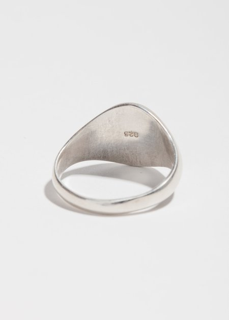 Jerry Grant Signet Ring - Sterling Silver