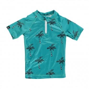 Beach & Bandits Coconut Tree Turquoise Tee