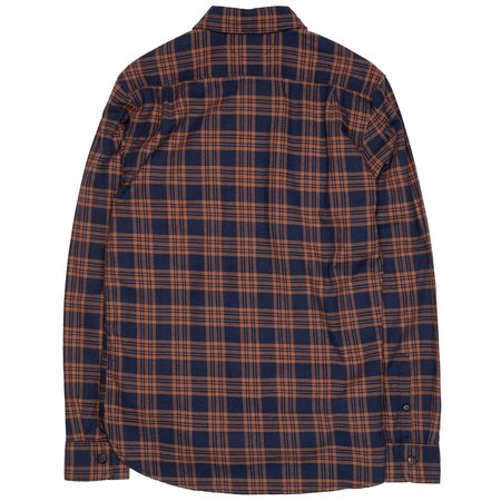 Freenote Cloth Jepson Shirt - Adobe Navy Check