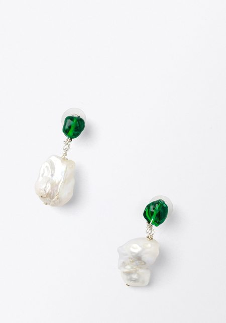 Mars Esme Emerald and Pearl Drops