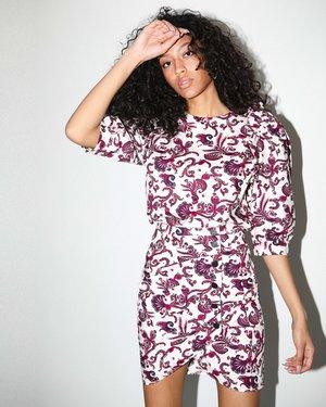 Ba&sh Rym Blouse - Ecru Print