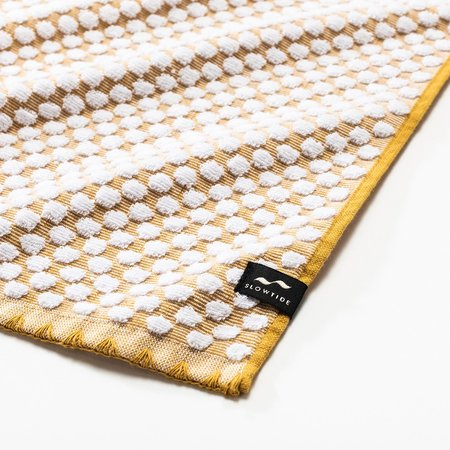 Slowtide Clive Two Piece Bundle Towel - Mustard