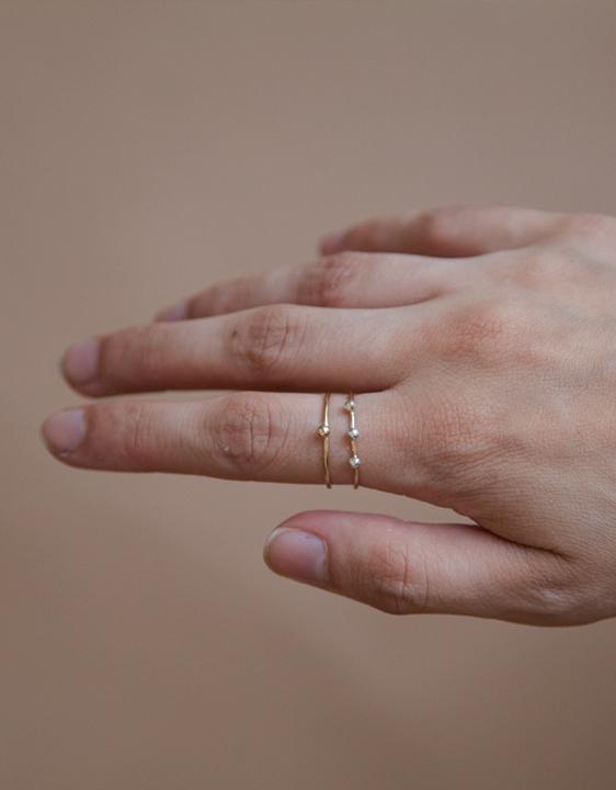 One Six Five Triple Fleck Ring