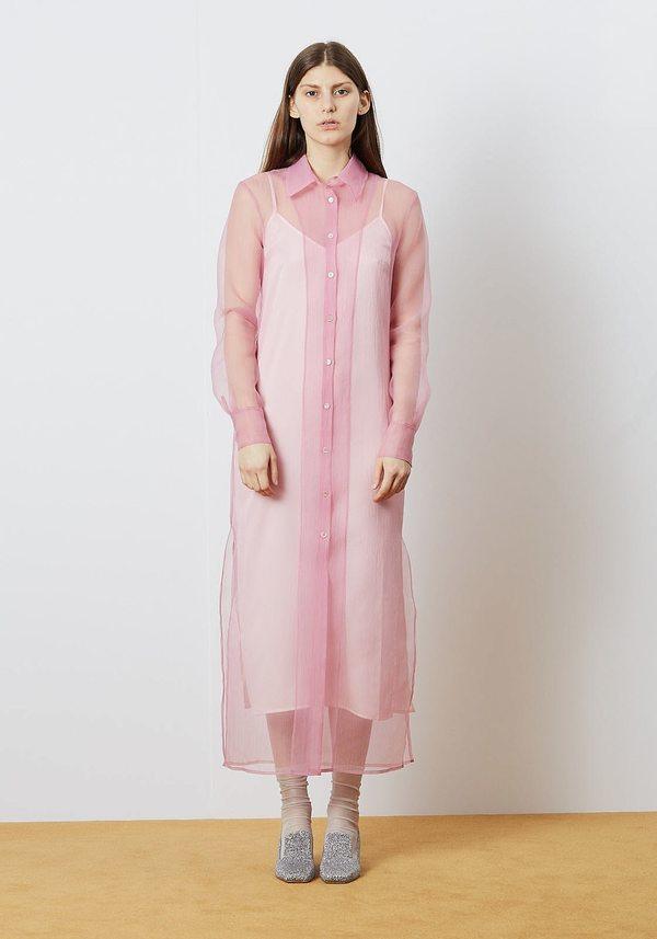 Staud Shell Frank Dress - Pink