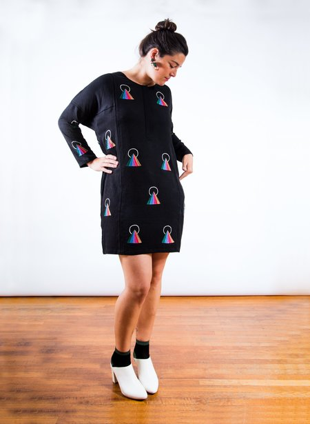 Seek Collective Sara Dress - Rainbow