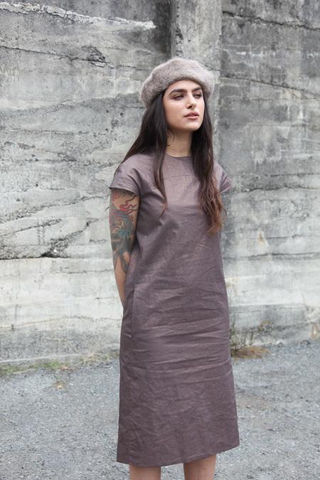 Pale Fire Statue Dress