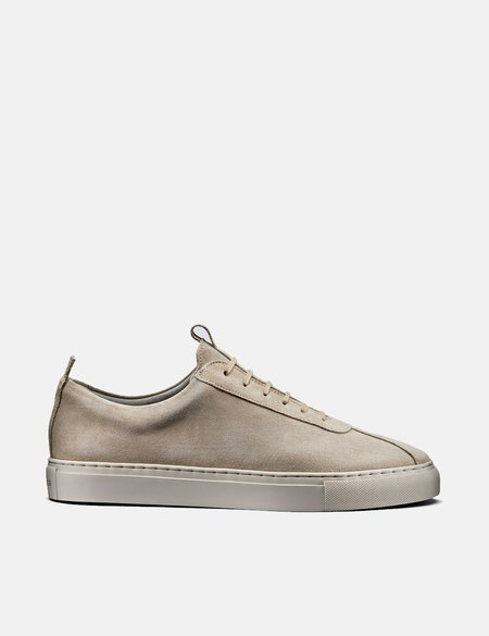 Grenson Suede Sneakers 1 - Stone
