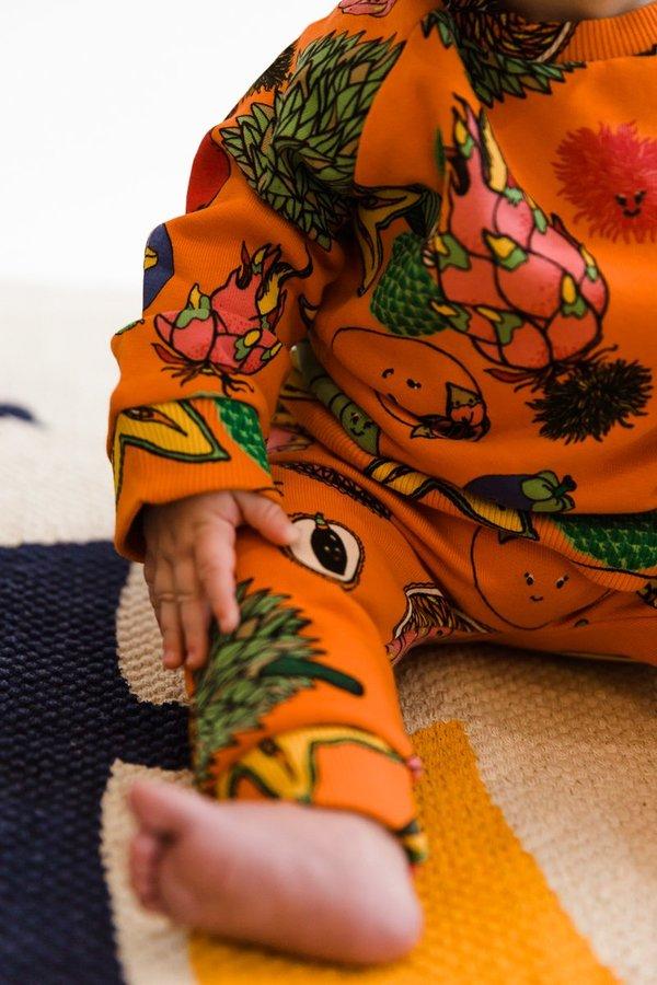 Kids Molo Dicte Sweatshirt - Friendly Fruits