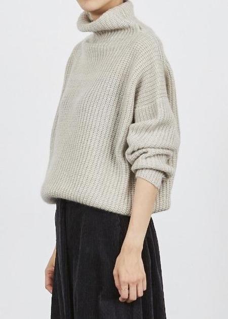 Nicholson and Nicholson Nico Volcano Sweater - Light Grey