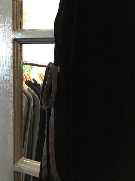 cut-loose Velvet Jumpsuit