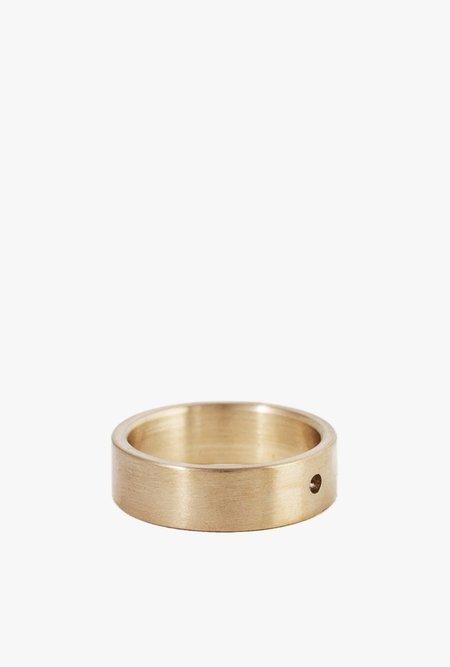 Marmol Radziner LW Solid Standard Ring - Brass