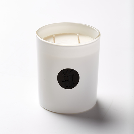 The Raconteur Red Centre Candle