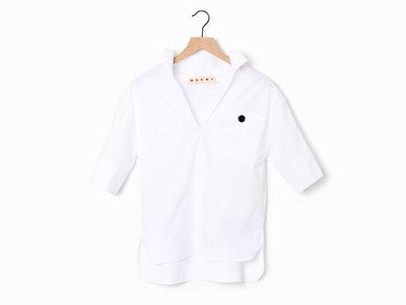 Marni Pocket Blouse - White
