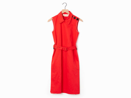Marni Belted Shift - Red