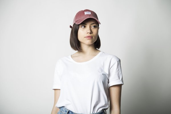 UNISEX Neumühle dad cap - red clay