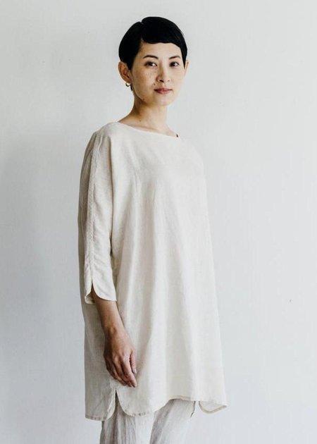 Fog Linen Work Iris Tunic - ecru