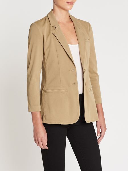Current Elliott The Highball Blazer - Tan