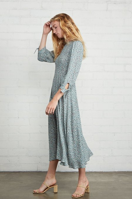 Rachel Pally Crepe Tati Dress - Forget Me Not